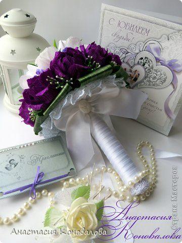 Букет невесты и свадебная беседка с секретом