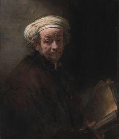 Rembrandt - Self-portraits - circa 1661.- Regenbogen - Art & Books