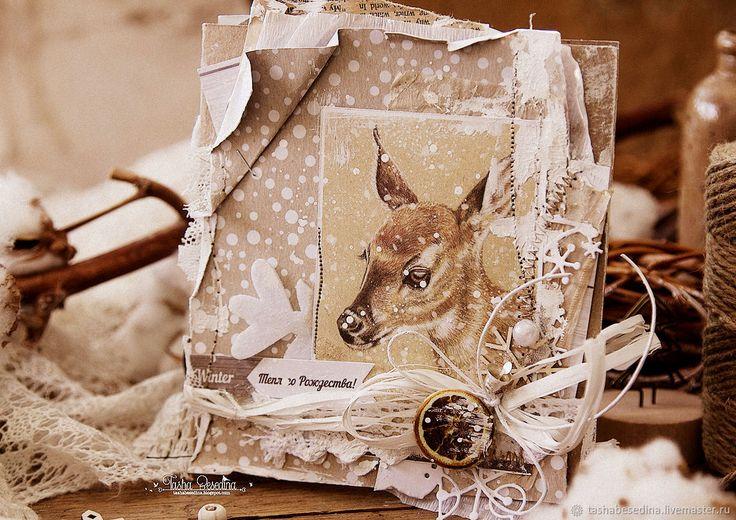 Вечер картинки, олень для открытки скрапбукинг