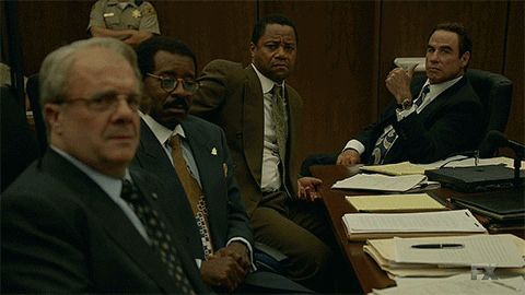 Hot GIF thumbs up john travolta oj simpson american crime story the people vs oj simpson robert shapiro