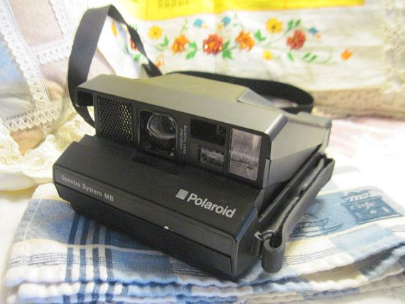 Vintage Polaroid Spectra System MB Folding by Daysgonebytreasures, $20.00