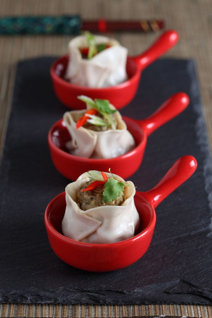 2014 Thermomix Calendar | June - Steamed pork and scallop dumplings with lime-chilli soy