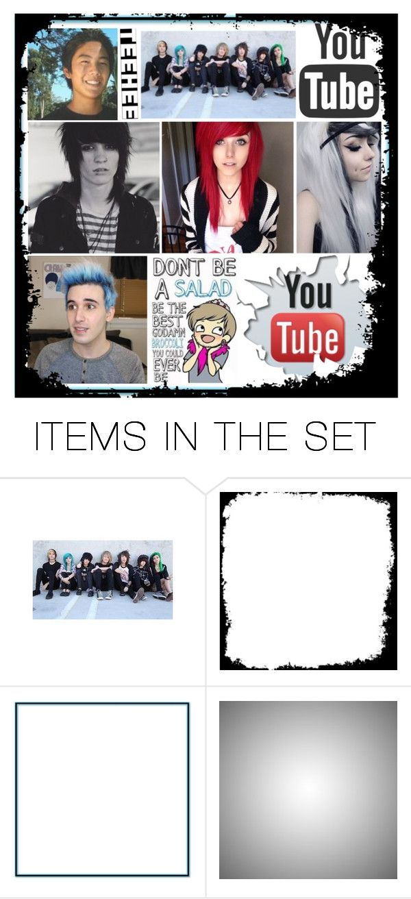 """You Tubers <3"" by dolphinloverd ❤ liked on Polyvore featuring art"