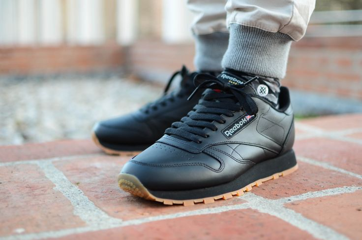 3e78e630ec Buy black reebok classic gum sole > OFF63% Discounted