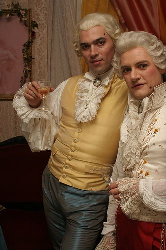 Bordello Party - of course! Nice rags.: Perfect Gentlemen, Rococo Punk, Swan Court, Rococo Inspiration, Google Search, Rococopunk, 18Th Century, Night Ball, Photo