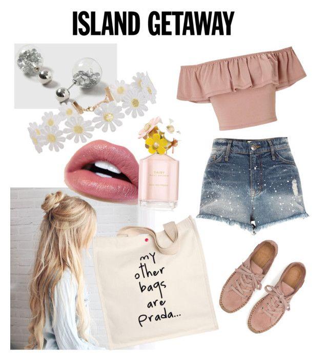 """Island Blossom"" by bianca-lee-jardim on Polyvore featuring Miss Selfridge, River Island, Prada, Dorothy Perkins, Humble Chic, Marc Jacobs and islandgetaway"