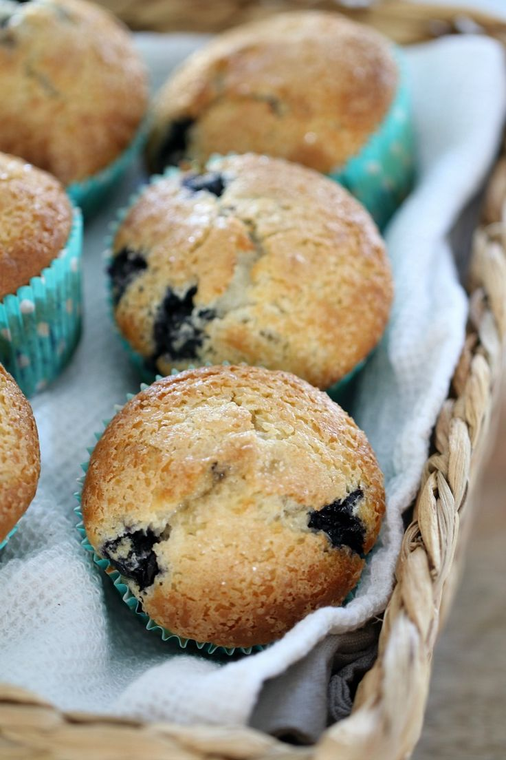 These Easy Thermomix Blueberry Muffins are absolutely delicious (and so simple!). They take less than 5 minutes to prepare… in fact, the hardest part is stopping yourself at just 1 (or 3!). #blueberry #muffins #easy #quick #best #baking #recipe #conventional #thermomix