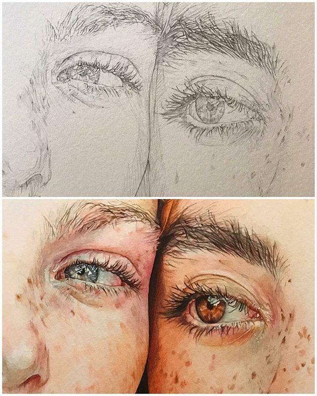 Watercolor arts (@artswatercolor) • Foto e video…