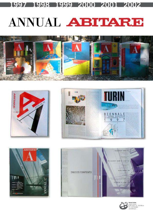 Abitare annual, publishing and book design.