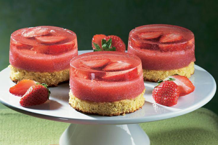 Vegan Jelly Cake Recipe: Recipe For Strawberry Gelatin And Pistachio Cake : La