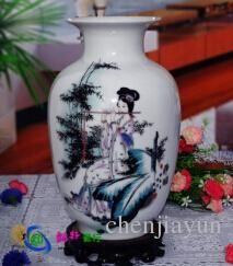 керамики восковая тыква снег ваза украшения, которые занимают статьи для обустройства дома