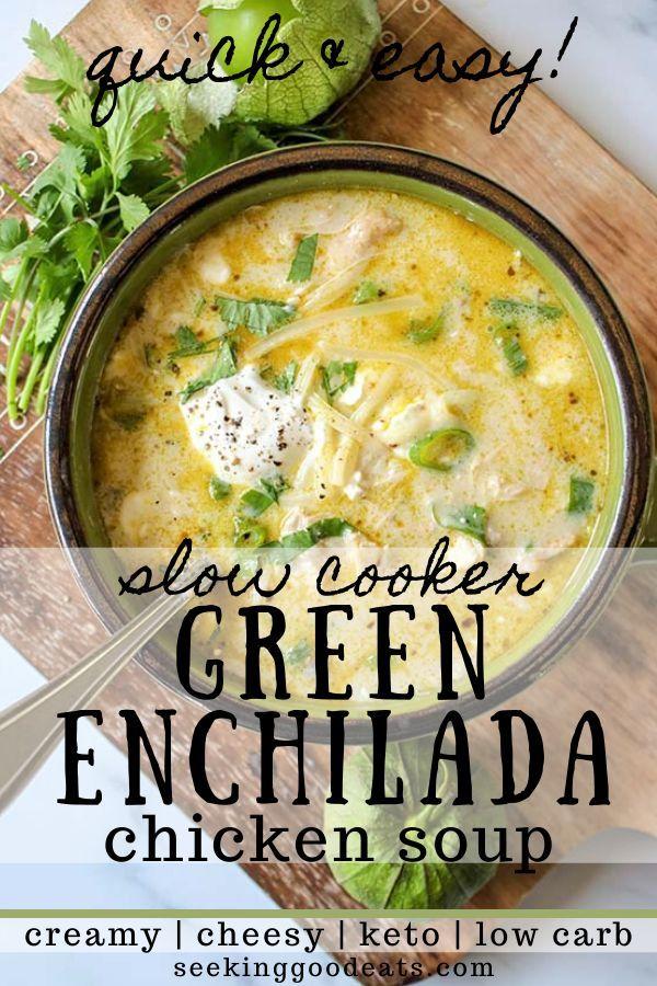 Green Enchiladas Chicken Soup Keto Mexican Chicken Soup Recipe Mexican Soup Recipes Food