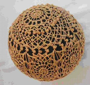 Lace Temari Pattern - instructions