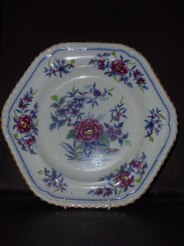 STONE-CHINA-JOHN-WILLIAM-RIDGWAY-1830-PLATE