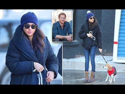 Prince Harry's girlfriend Meghan Markle takes her dog Bogart to the vet in Toronto