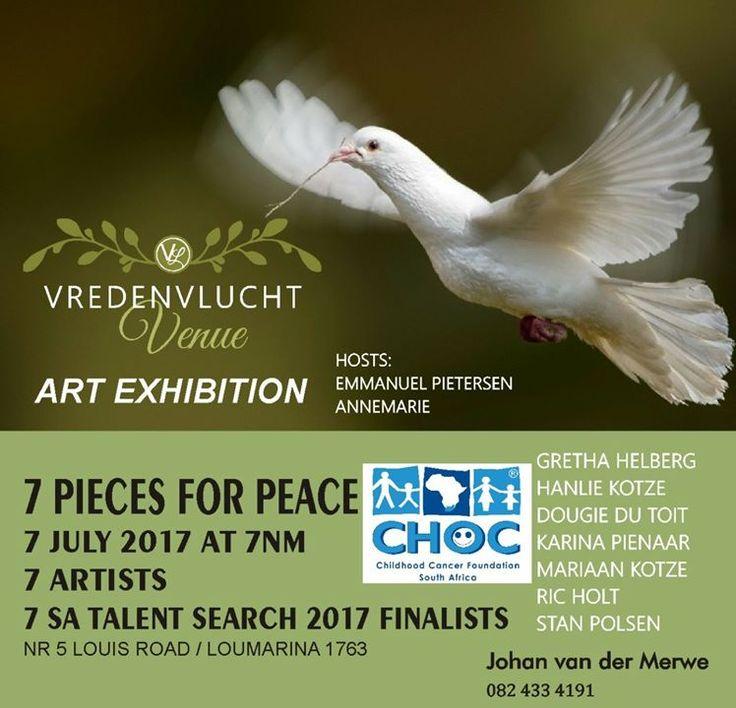 7 Artists - 7 July -  Vredenvlucht Art Exhibition