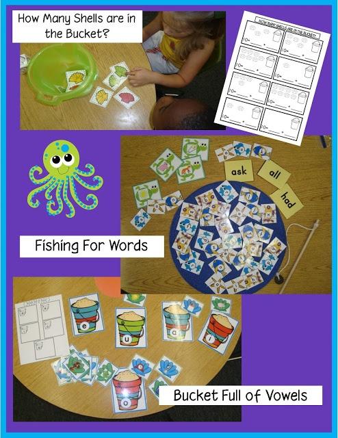 Golden Gang Kindergarten: ***{{Oceans unit ~activities for Daily 5}}***