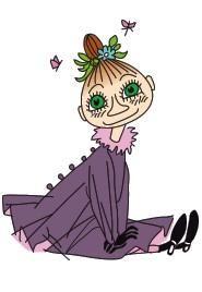 わたし、ミムラに生まれて、ほんとうによかったわ。頭のてっぺんから足のつま先まで、とてもいい気もちだもの。