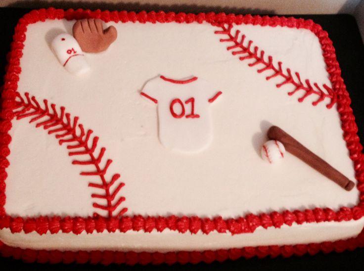 Walmart Bakery Baseball Cake