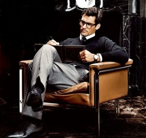 David Gandy as Professor Gabriel Emerson. #Gabriel's Inferno/Gabriel's Rapture #WhyIloveGabrielandyouwilltoo