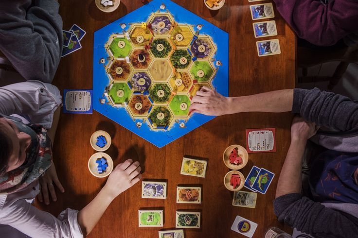 Using Board Game Bowls with Settlers of Catan