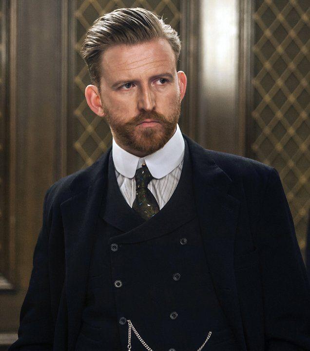 Tom Goodman-Hill as Roger Grove in Mr. Selfridge