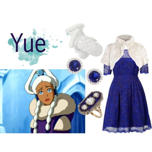 Blue dress princess yue
