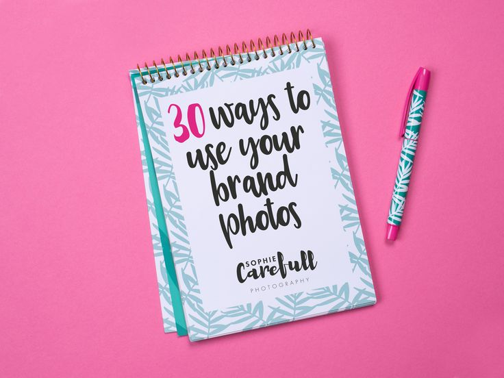 30 Ways To Use Your Brand Photos | Brand Photographer for Creatives | Bristol, UK