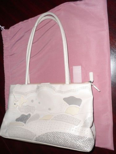 Radley Handbag, with Radley Dust bag ...Ambleside....pink & Ivory version