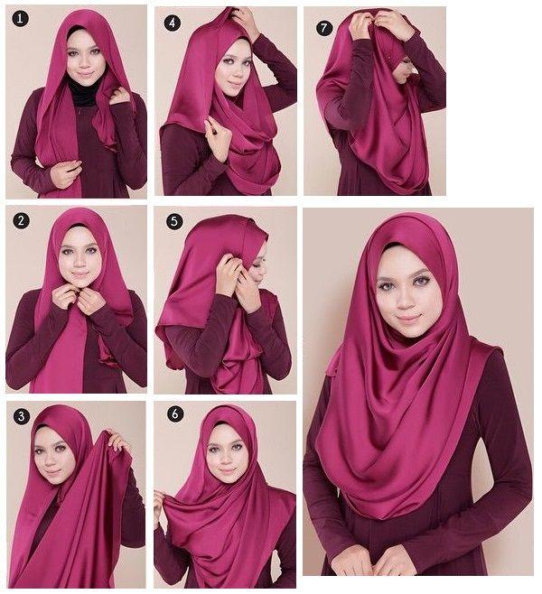 20 Tutorial Hijab Pashmina Terbaru
