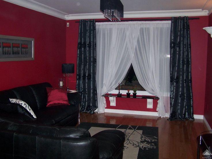 wohnzimmer rote wand: Wohnzimmer Rot auf Pinterest