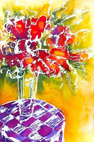 WATERCOLOURS Paint & Sip Workshop SUN 18 OCT 1 - 4PM - ART101 Art Gallery & Framing