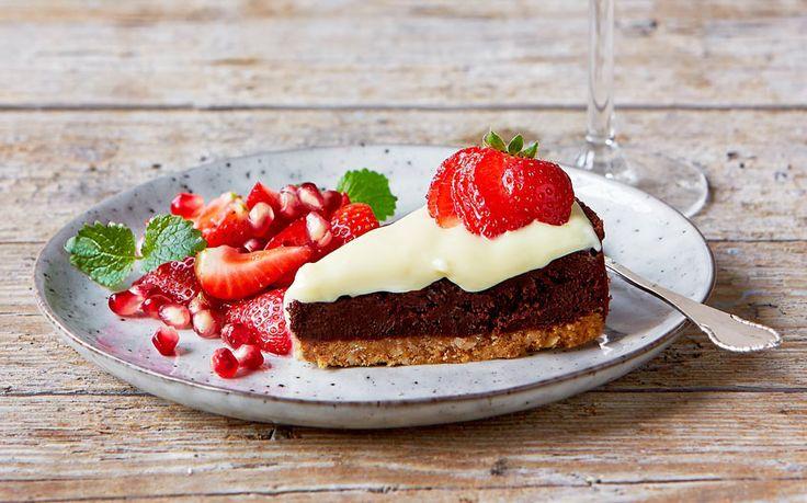 Chokoladekage - til dessert og fest