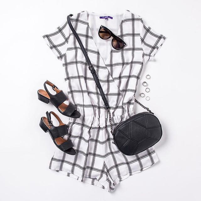 Monochrome perfection  This gorgeous jumpsuit is available in our Avahna sale. Click the link in our bio to check it out ☝️