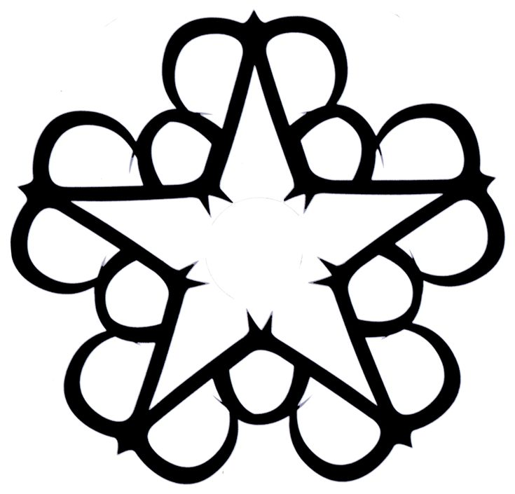 "Day 21: (best band logo) OKAY. So I've always liked the BVB Star because not only does it incorporate ""BVB"" BUT there are 5 parts on the star and 5 members of the band..."