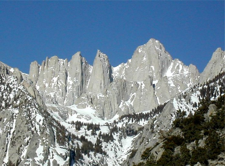 39 Best Images About Mt Whitney Trail Crest To Summit On