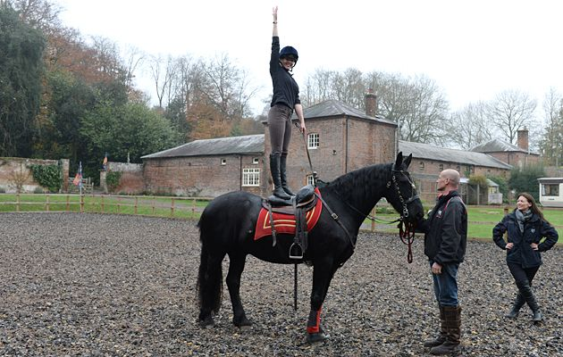 Looking for a new challenge in 2015? Find out how Horse & Hound's Hannah Lemieux got on when she tried a spot of stunt riding. Read Hannah's thoughts and watch the video at http://www.horseandhound.co.uk/features/hhtriesstuntriding/#tZwLa1Mhv3T5HUqD.99