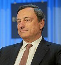Mario Draghi Président de la Banque centrale européenne