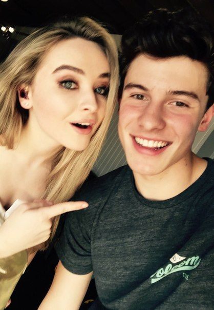 Sabrina Carpenter and Shawn Mendes Follow me ------>@MariellAnneDiaz