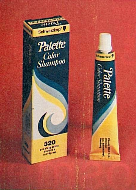 Pallete color Shampoo