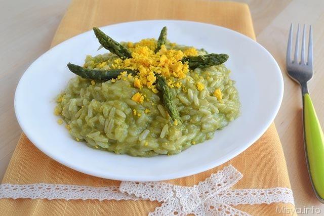 Risotto mimosa, scopri la ricetta: http://www.misya.info/2015/03/06/risotto-mimosa.htm