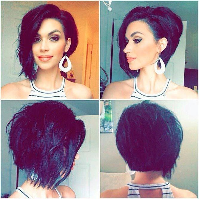 31++ Funky inverted bob hairstyles ideas