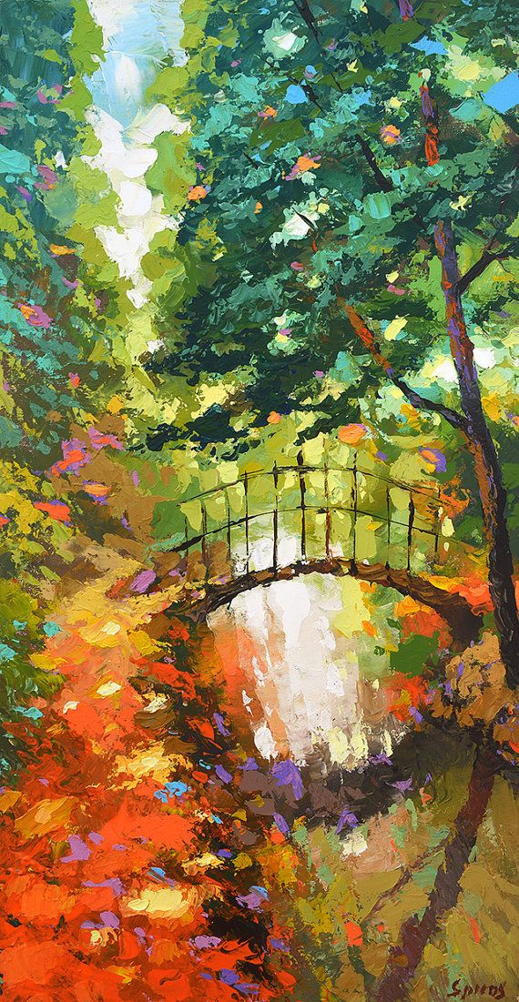 The path. High Quality Print on Canvas Dmitry Spiros by spirosart