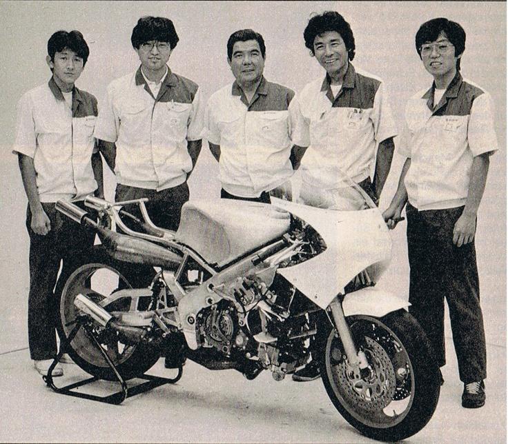 New Suzuki XR 71 - 1986