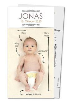 Geburtskarte Geburtsanzeige mit Pfeilchen (ER-478)
