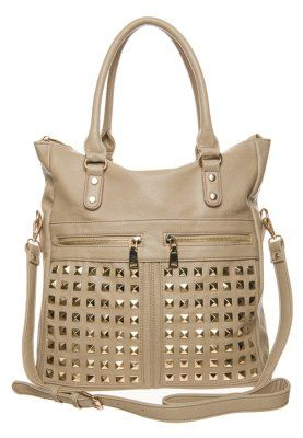 FIERCE - Shopping bag - beige