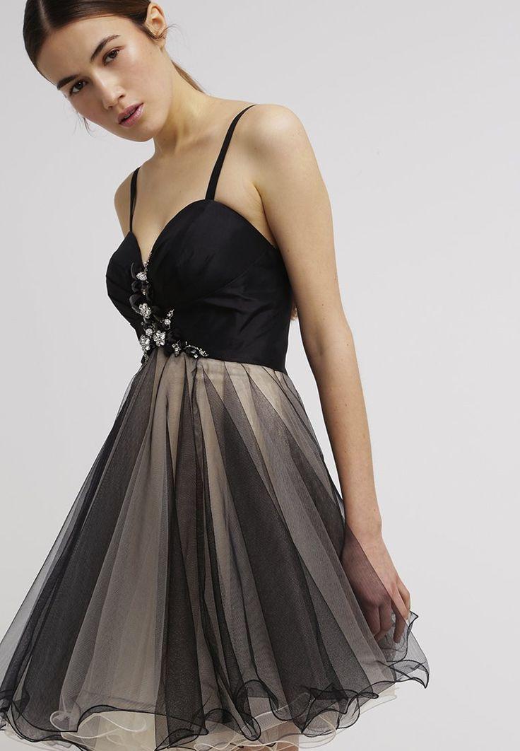Luxuar Fashion Cocktailjurk - nude/schwarz -