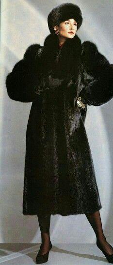 Beautiful in Black Fur