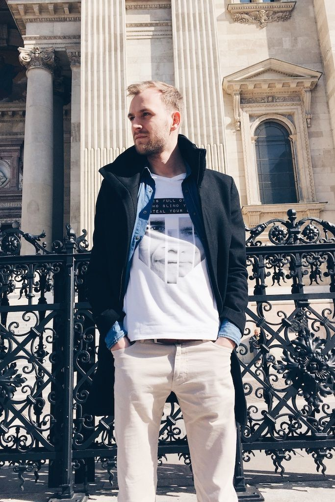 Thank for this awesome shot from Budapest #IamABIDELESS #Budapest #travel #discover #dope #style #fashion #white #Tshirt