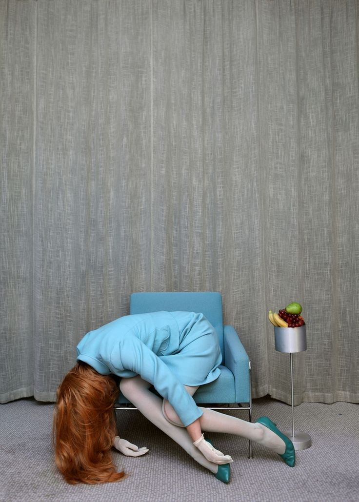 autoportret norweska fotograf Anja Niemi